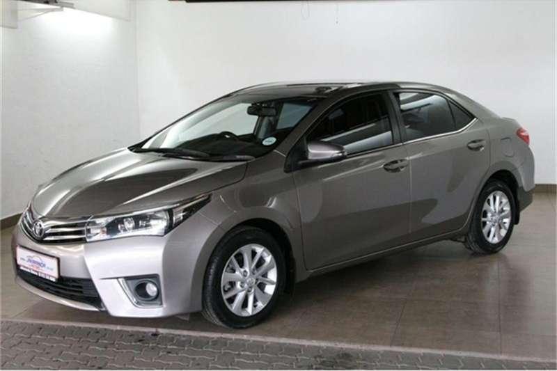 2014 Toyota Corolla 1.8 Exclusive auto