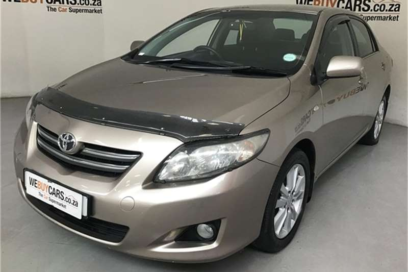 2010 Toyota Corolla 1.3 Advanced