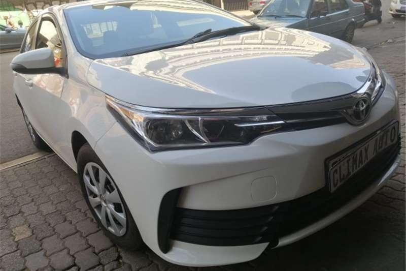 2017 Toyota Corolla 1.6 Advanced