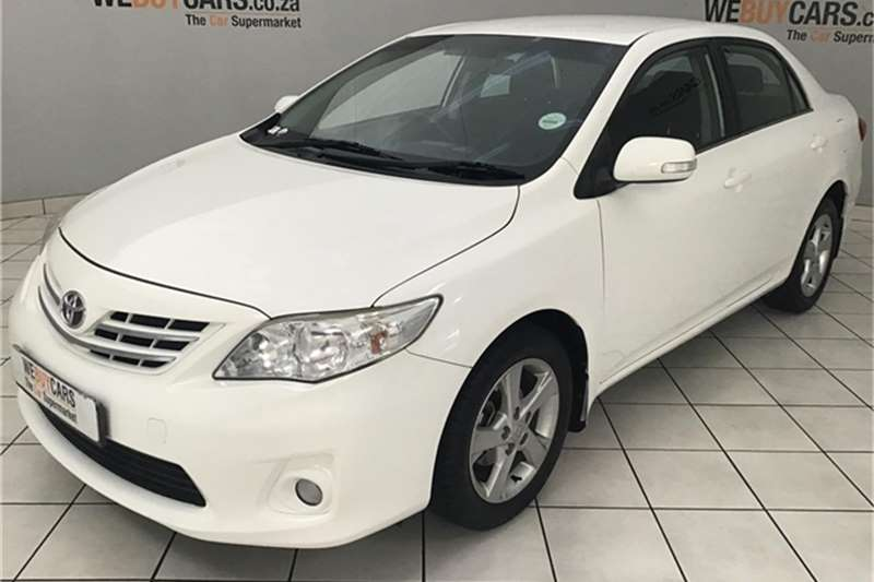 2013 Toyota Corolla 1.6 Advanced auto