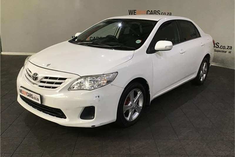 2010 Toyota Corolla 1.6 Advanced auto