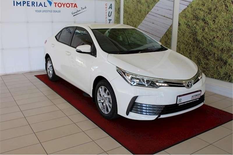 2017 Toyota Corolla 1.6 Prestige