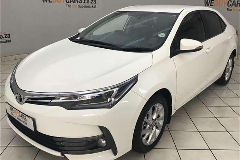 2017 Toyota Corolla 1.8 Exclusive