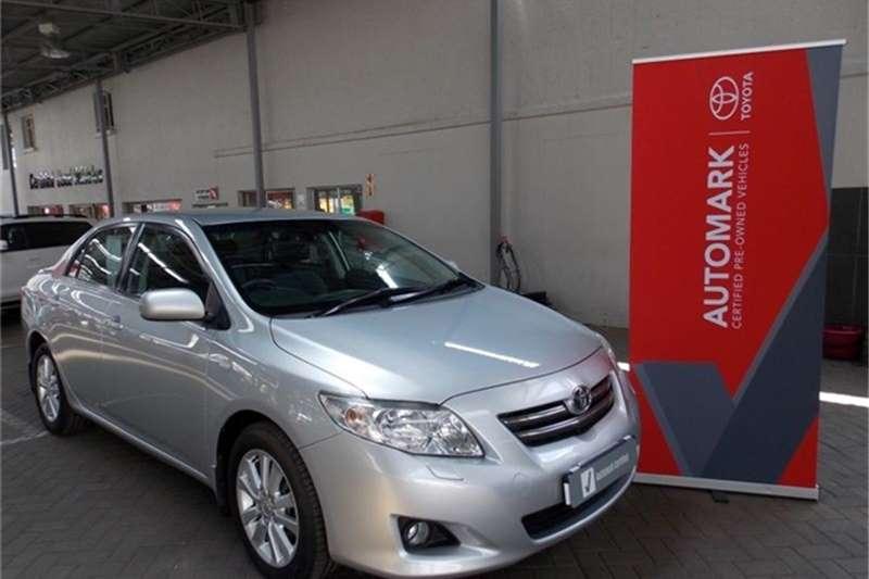2009 Toyota Corolla 1.8 Exclusive automatic