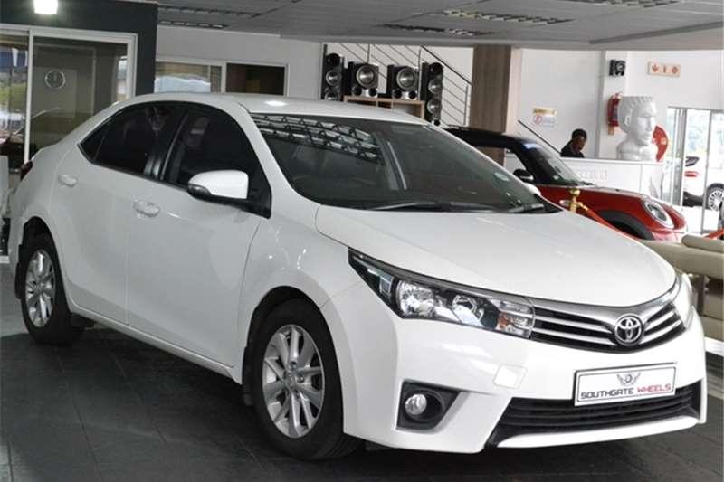 2014 Toyota Corolla 1.8 Exclusive automatic