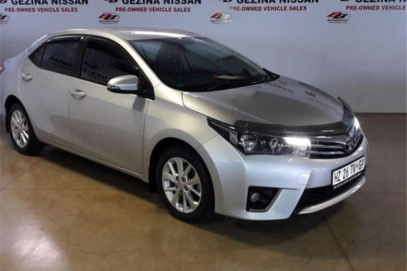2015 Toyota Corolla 1.8 Prestige