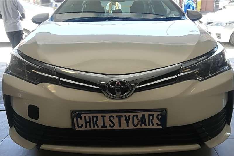 2018 Toyota Corolla 1.4D 4D Prestige