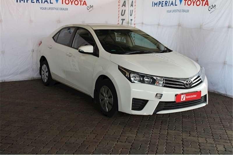2015 Toyota Corolla 1.6 Esteem