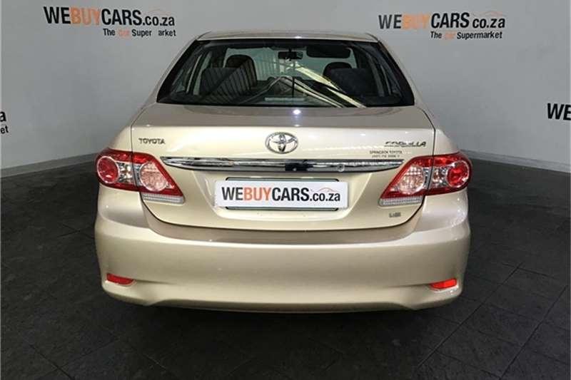 2012 Toyota Corolla 1.6 Advanced