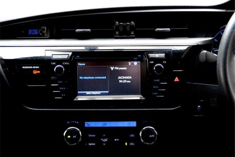 2015 Toyota Corolla 1.8 Exclusive auto