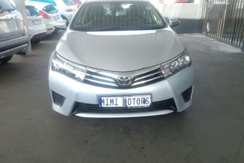 Toyota Corolla prestige 1.6 2014