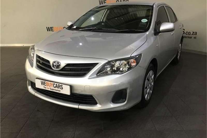 Toyota Corolla Quest Corolla Quest 1 6 Auto For Sale In Western Cape Auto Mart