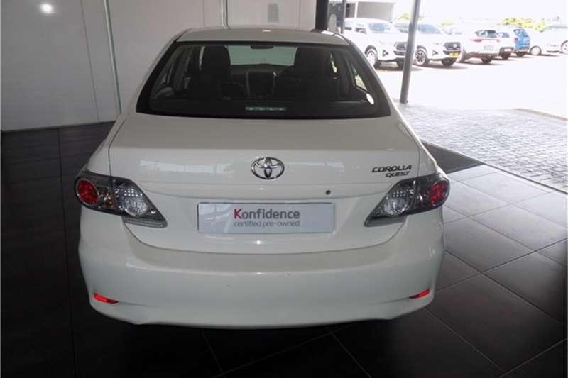 Toyota Corolla Quest 1.6 auto 2019
