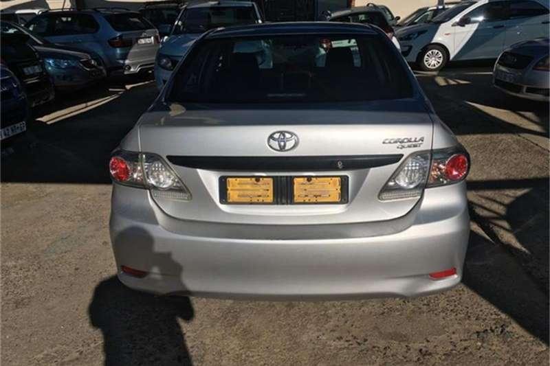 2014 Toyota Corolla Quest