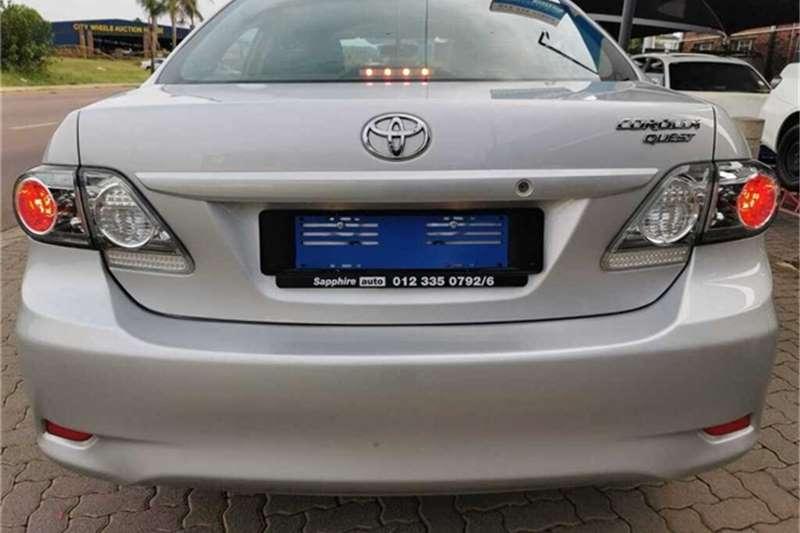 2018 Toyota Corolla Quest