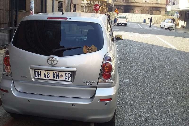 Used 2008 Toyota Corolla Verso 160 SX