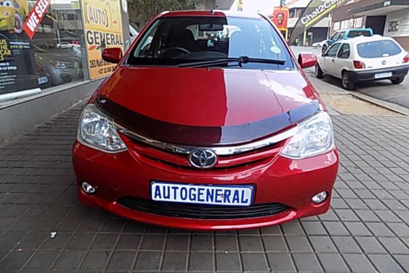 Toyota Etios 1,5 manual 2013