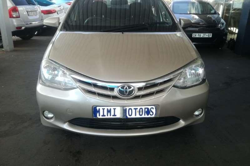 Toyota Etios 1.5 sedan 2014