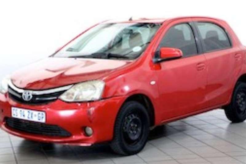 Toyota Etios 1.5 XS/SPRINT 5DR 2013