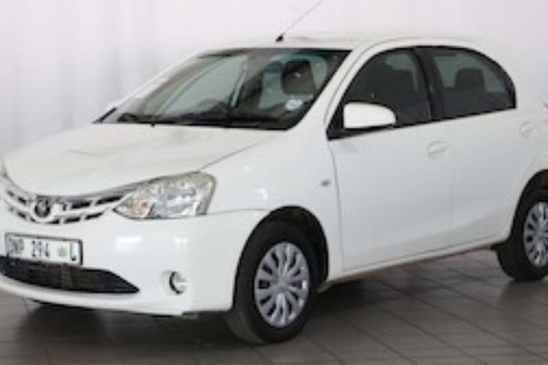 Toyota Etios 1.5 XS/SPRINT 5DR 2014