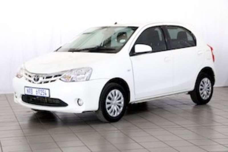 Toyota Etios 1.5 XS/SPRINT 5DR 2016