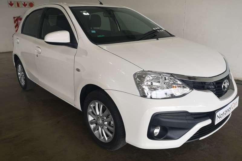 Toyota Etios 1.5 XS SPRINT 5DR 2017