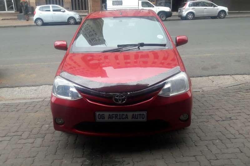 Toyota Etios 1.6 2013