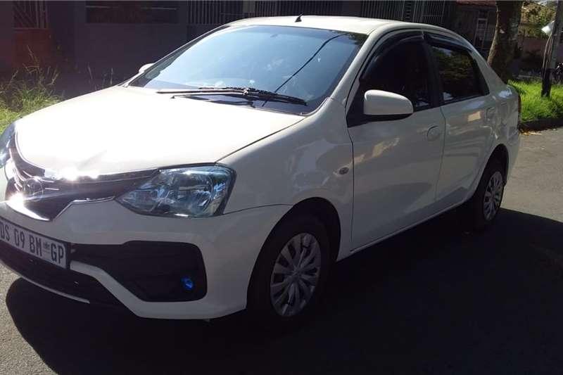 Used 2016 Toyota Etios