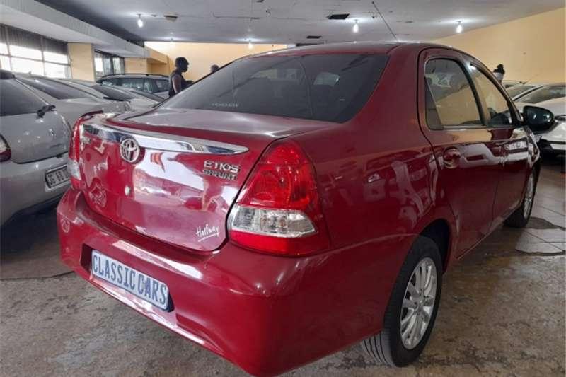 Used 2020 Toyota Etios