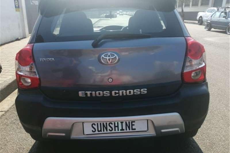 Used 2015 Toyota Etios Cross ETIOS CROSS 1.5 Xs 5Dr