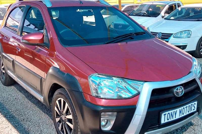 Used 2018 Toyota Etios Cross ETIOS CROSS 1.5 Xs 5Dr