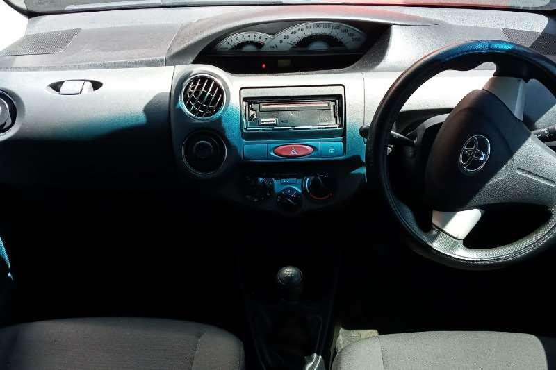 Used 2012 Toyota Etios hatch 1.5 Sprint