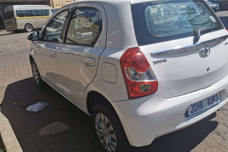 Used 2015 Toyota Etios hatch 1.5 Sprint