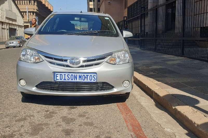 Toyota Etios hatch 1.5 Sprint 2016