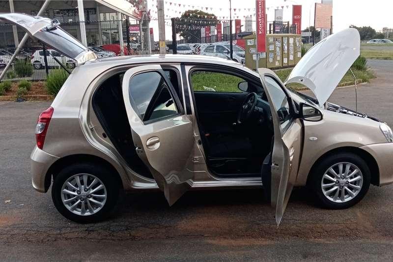 Used 2016 Toyota Etios hatch 1.5 Sprint