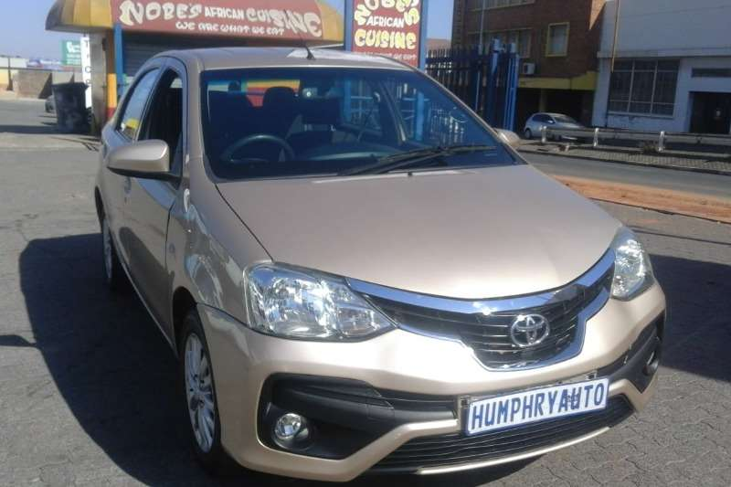 Toyota Etios hatch 1.5 Sprint 2018