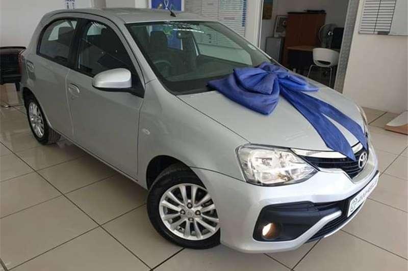 Toyota Etios hatch 1.5 Sprint 2018
