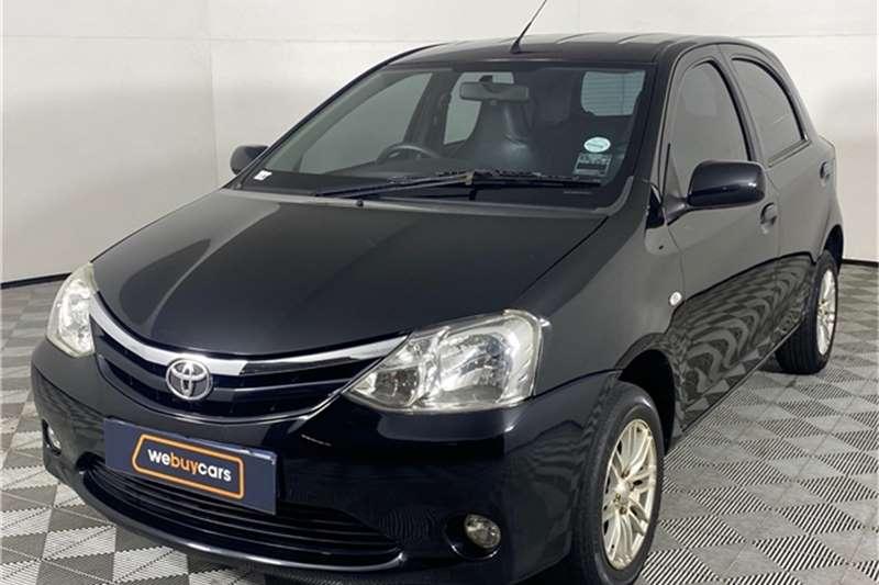 2012 Toyota Etios Etios hatch 1.5 Xi