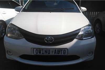 Used 2013 Toyota Etios hatch 1.5 Xi