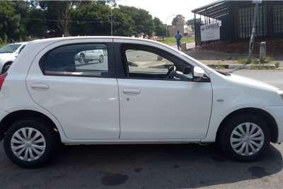 Used 2014 Toyota Etios hatch 1.5 Xi