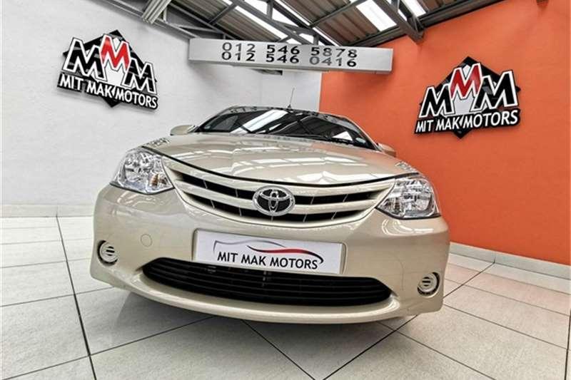 Used 2016 Toyota Etios hatch 1.5 Xi