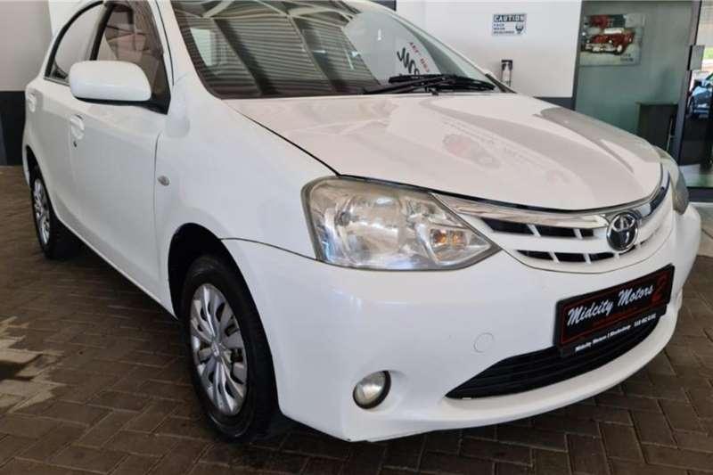 Used 2013 Toyota Etios hatch 1.5 Xs