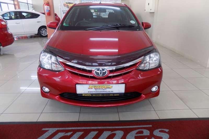 Toyota Etios hatch 1.5 Xs 2014