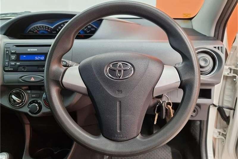 Used 2015 Toyota Etios hatch 1.5 Xs
