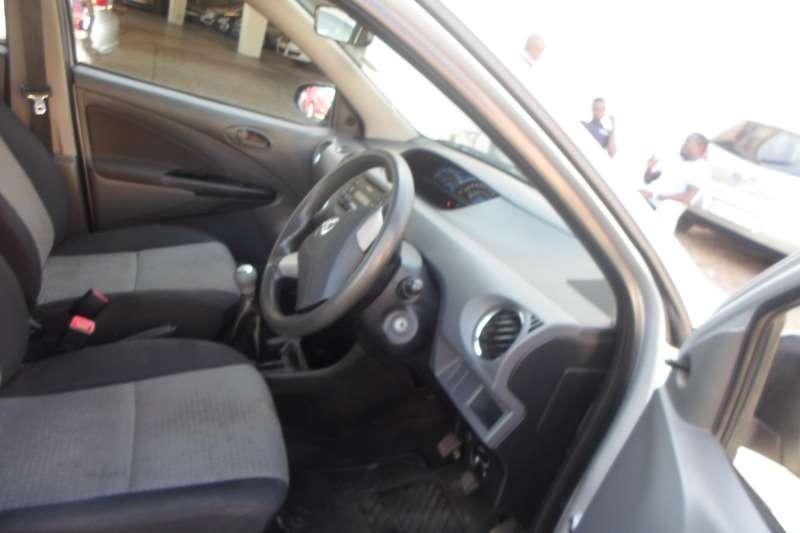 Used 2016 Toyota Etios hatch 1.5 Xs