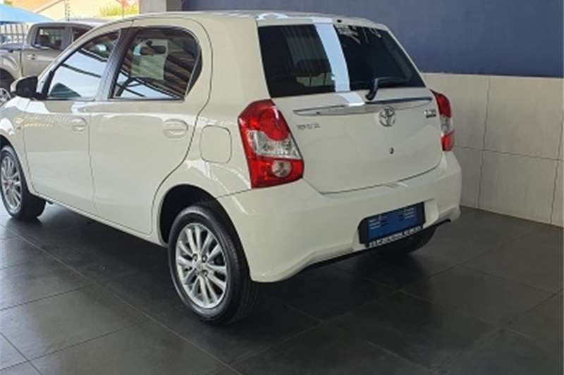 Used 2016 Toyota Etios hatch 1.5 Xs