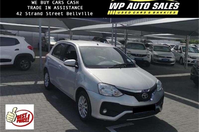 Toyota Etios Etios Hatch 1 5 Xs For Sale In Western Cape Auto Mart