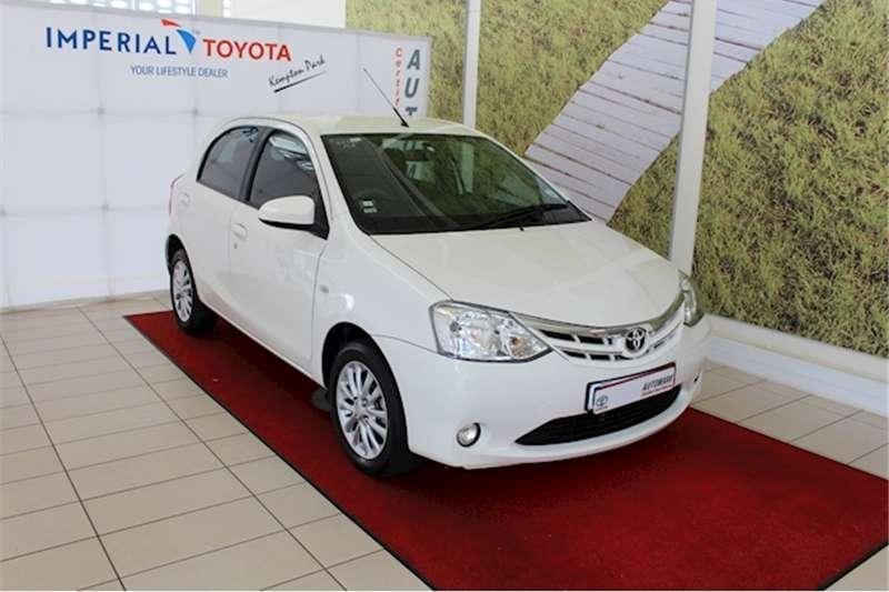 Toyota Etios hatch 1.5 Xs 2017