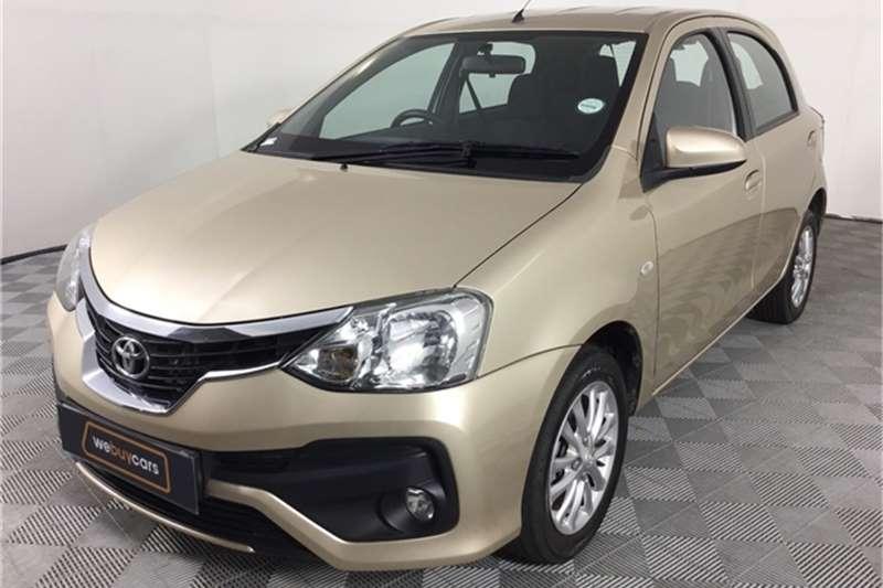 Used 2017 Toyota Etios hatch 1.5 Xs