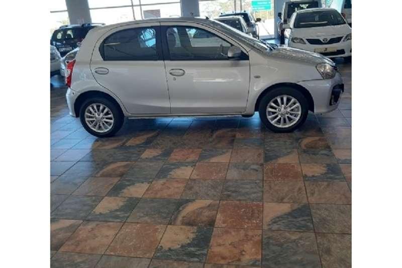 2017 Toyota Etios Etios hatch 1.5 Xs